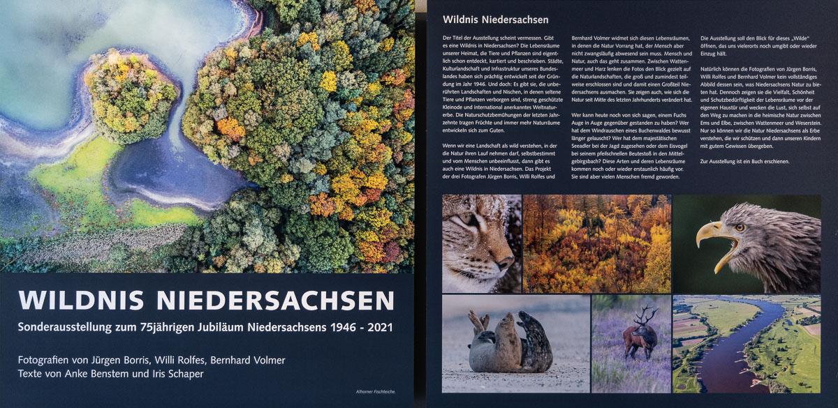 Fotoausstellung Wildnis Niedersachsen