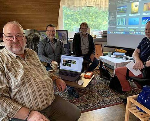 """Vorbereitungen zur Sonderausstellung """"Wildnis Niedersachsen"""" 2021"""